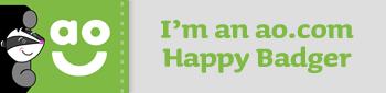 happy badge
