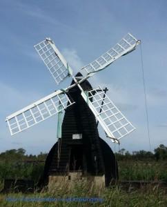 not a windmill at Wicken Fen