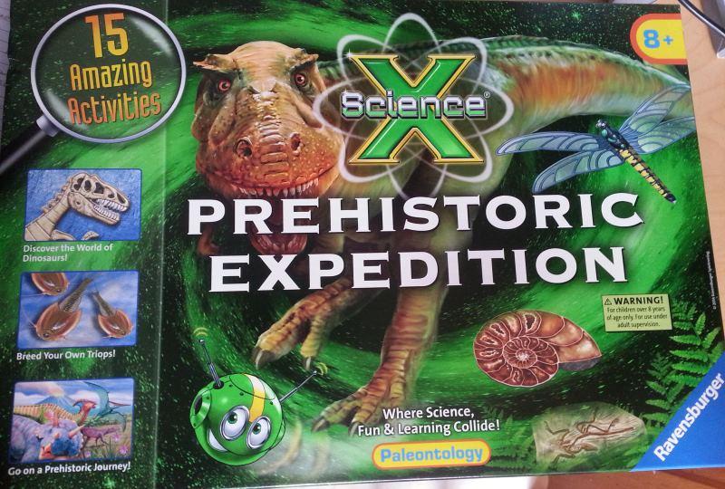 packshot prehistoric expedition science kit ravensburger