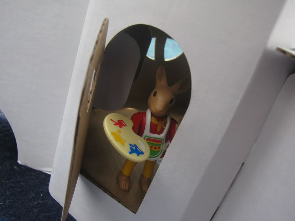 just the right size for playmobil