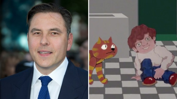 David Walliams in the new Charley Says safety campaign