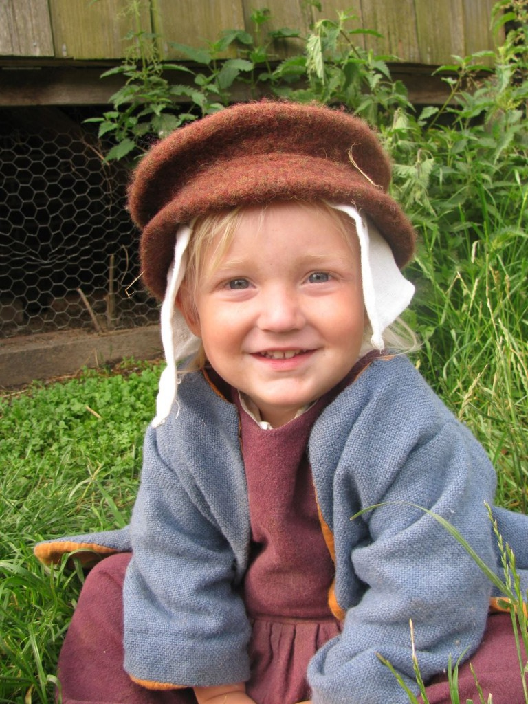 tudor child at kentwell hall 1578
