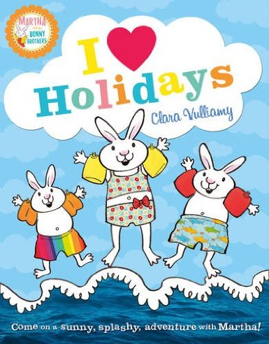 i heart holidays martha and the bunny brothers