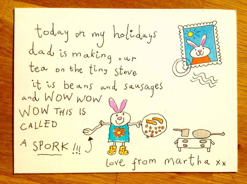 postcard from martha I heart holidays