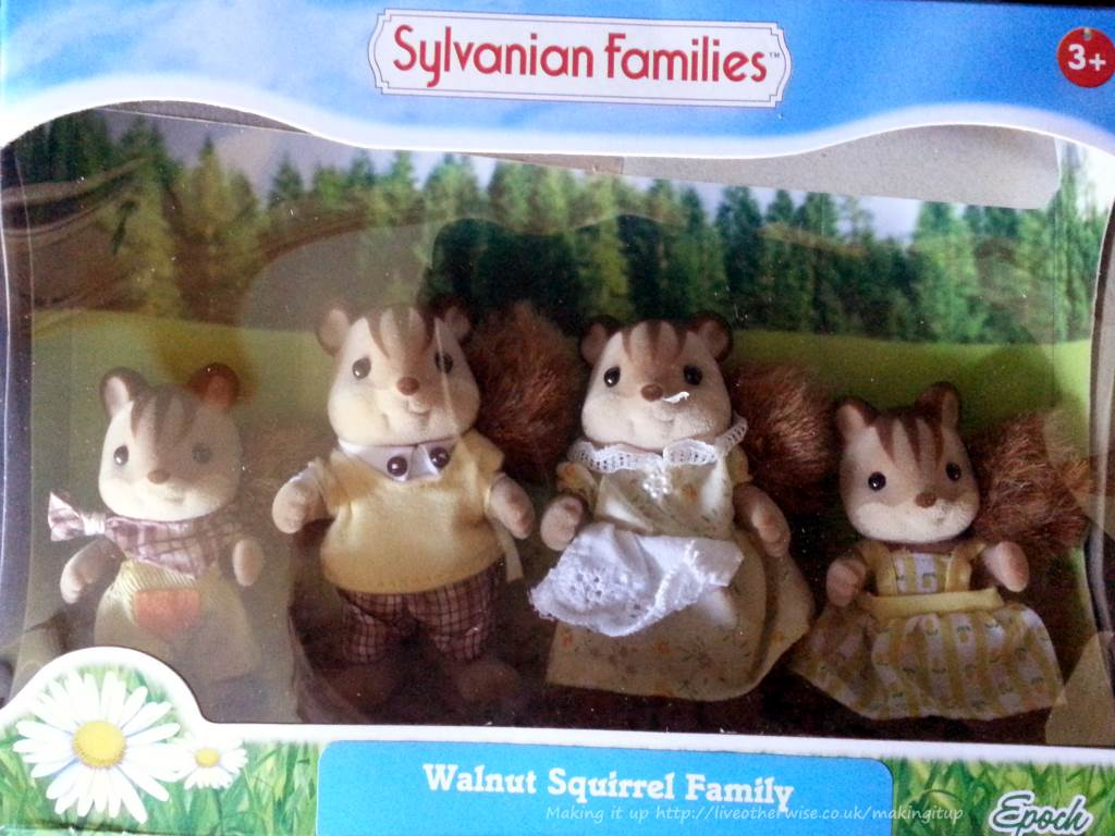 A Summer Of Sylvanians Sylvanian Families Walnut Squirrel Family