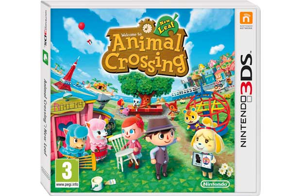 Animal Crossing: New Leaf 3DS Game