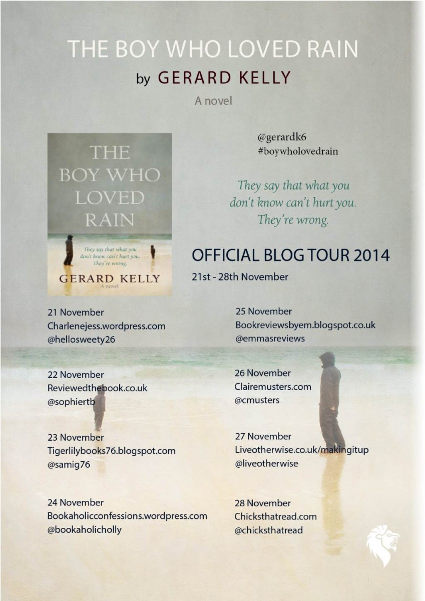 Blog Tour poster Boy Who Loved Rain