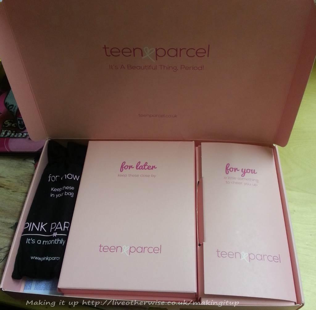 Teen parcel the innards