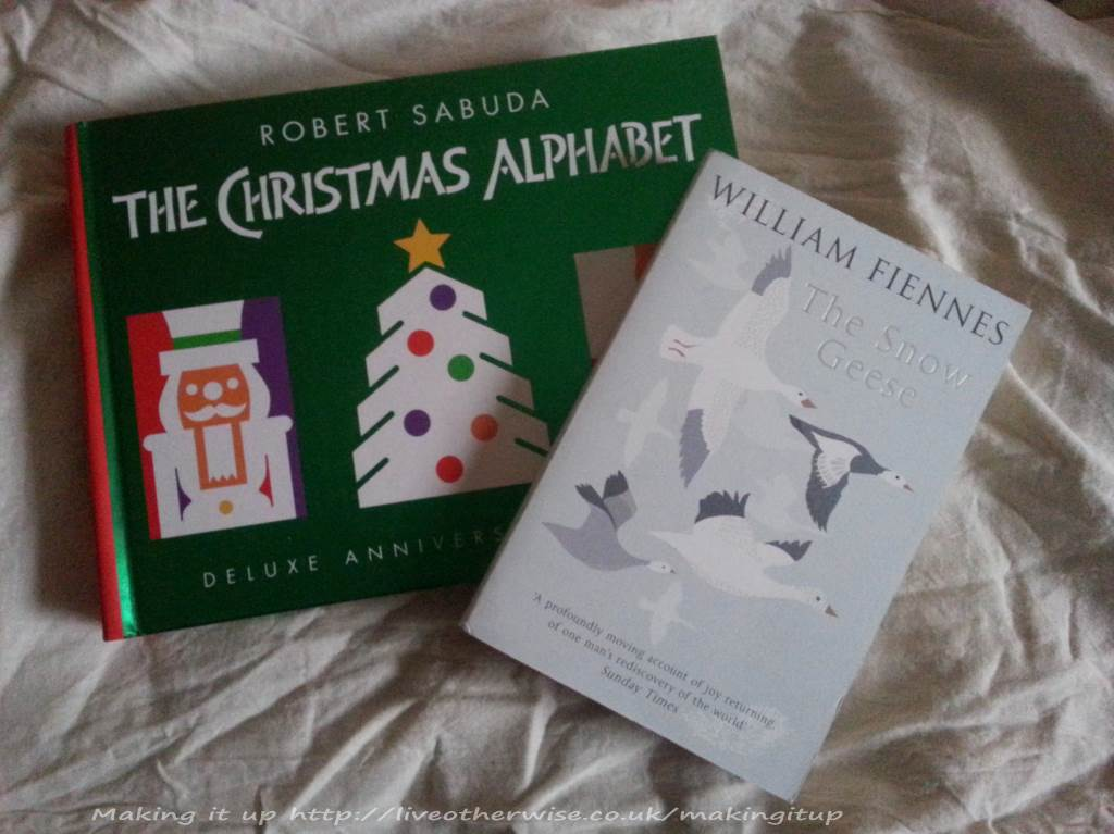 The Christmas Alphabet and The Snow Geese
