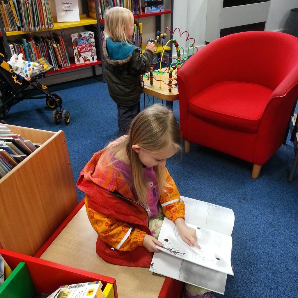 library visit