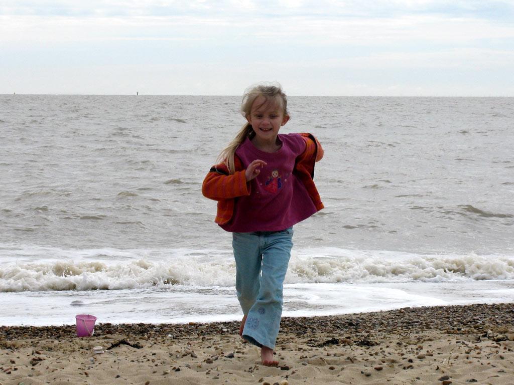 Smallest-running-on-beach