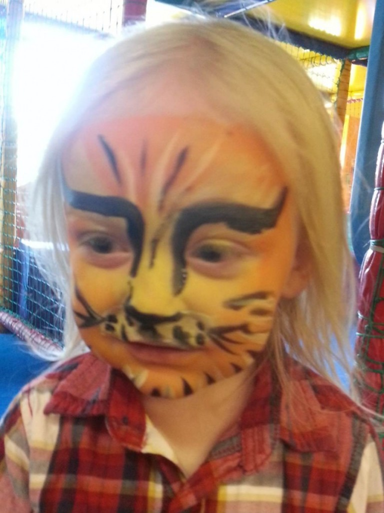 tigerboy as tiger