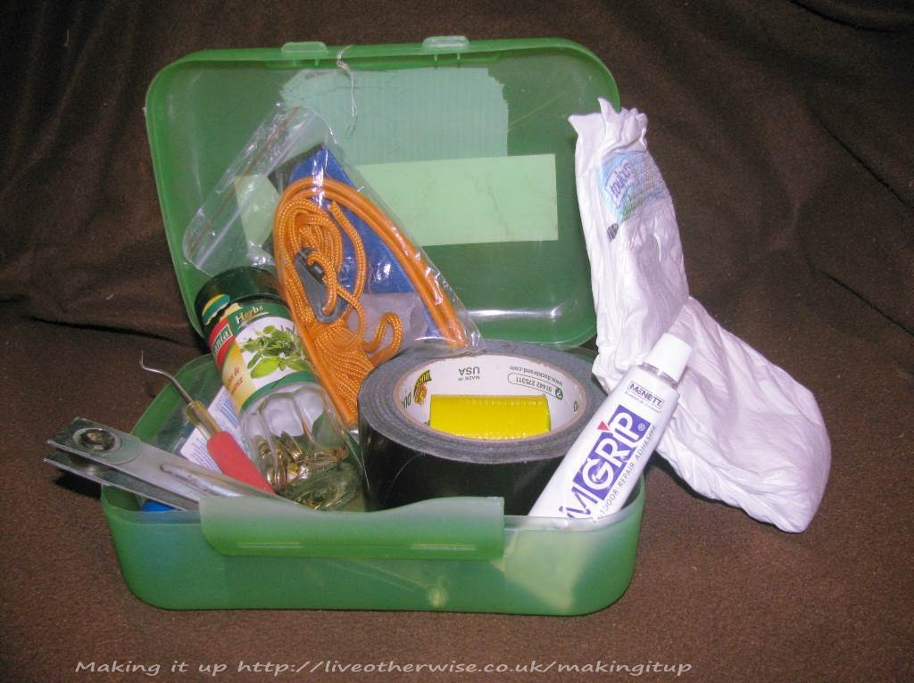 camping emergency kit