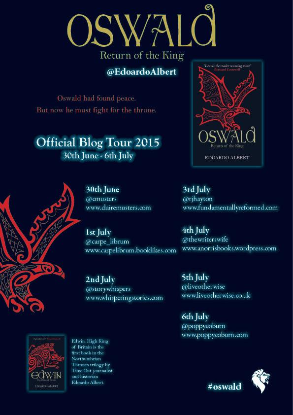 Oswald Blog Tour Poster