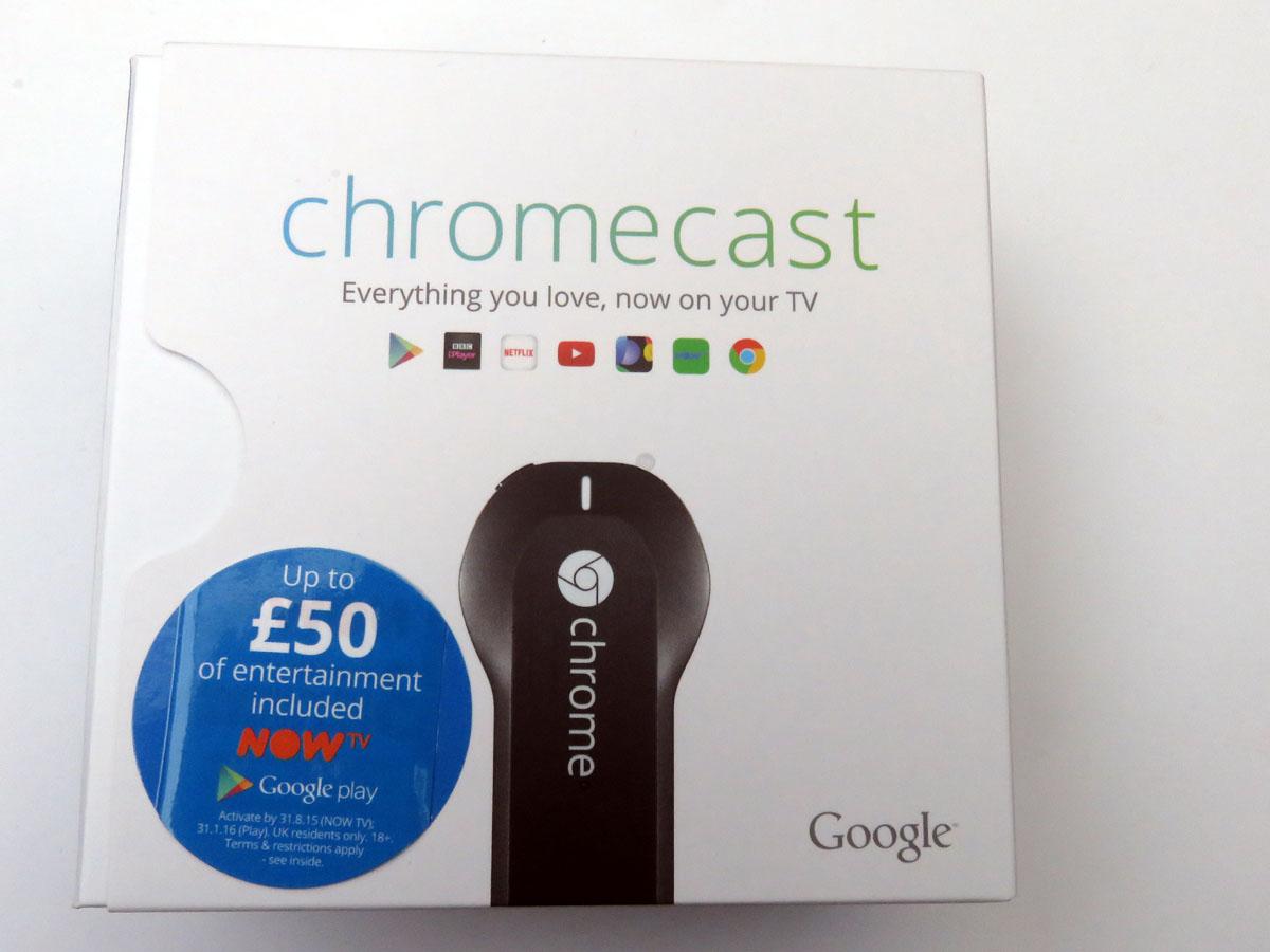 chromecast outer box