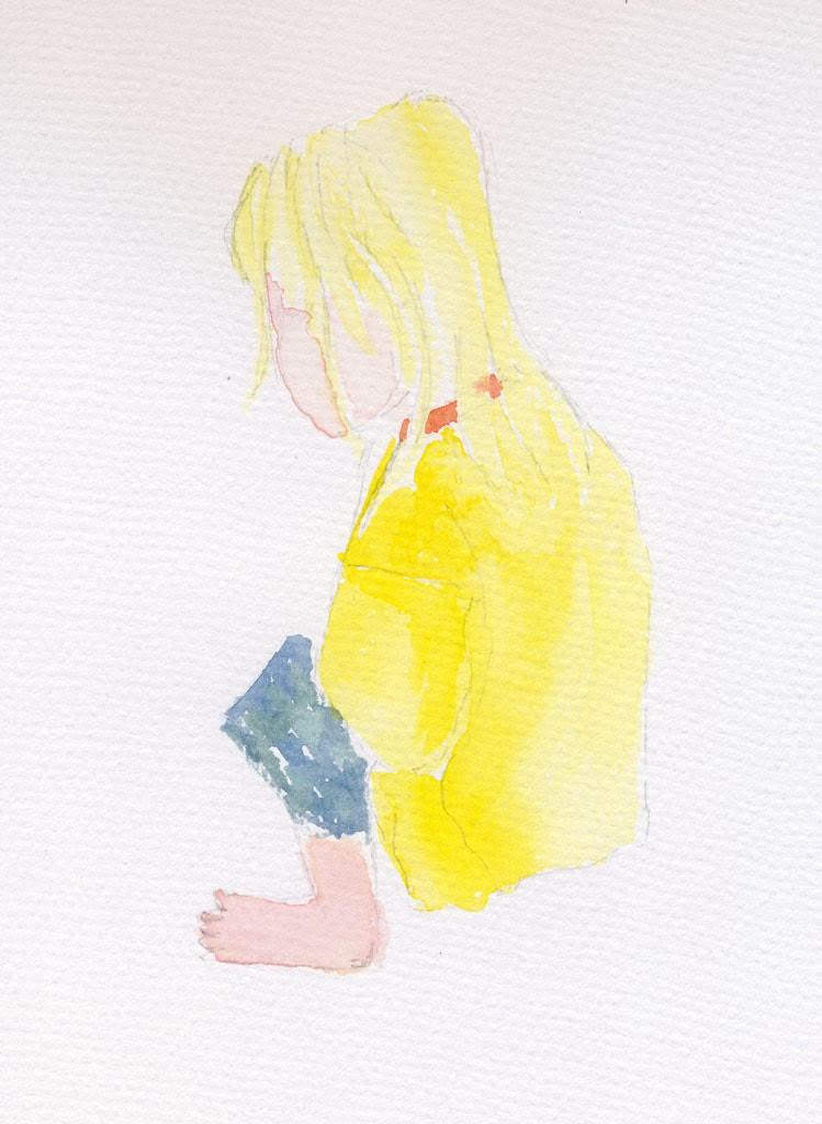 tigerboy watercolour