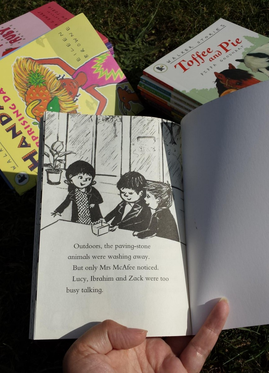 Drawing together by Mimi Thebo and Jessica Meserve