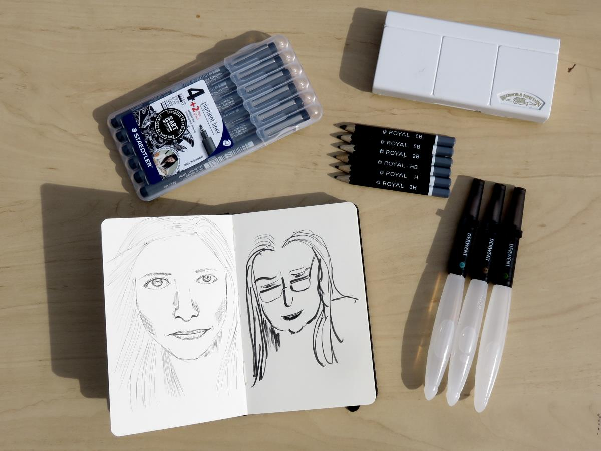 day to day sketch kit