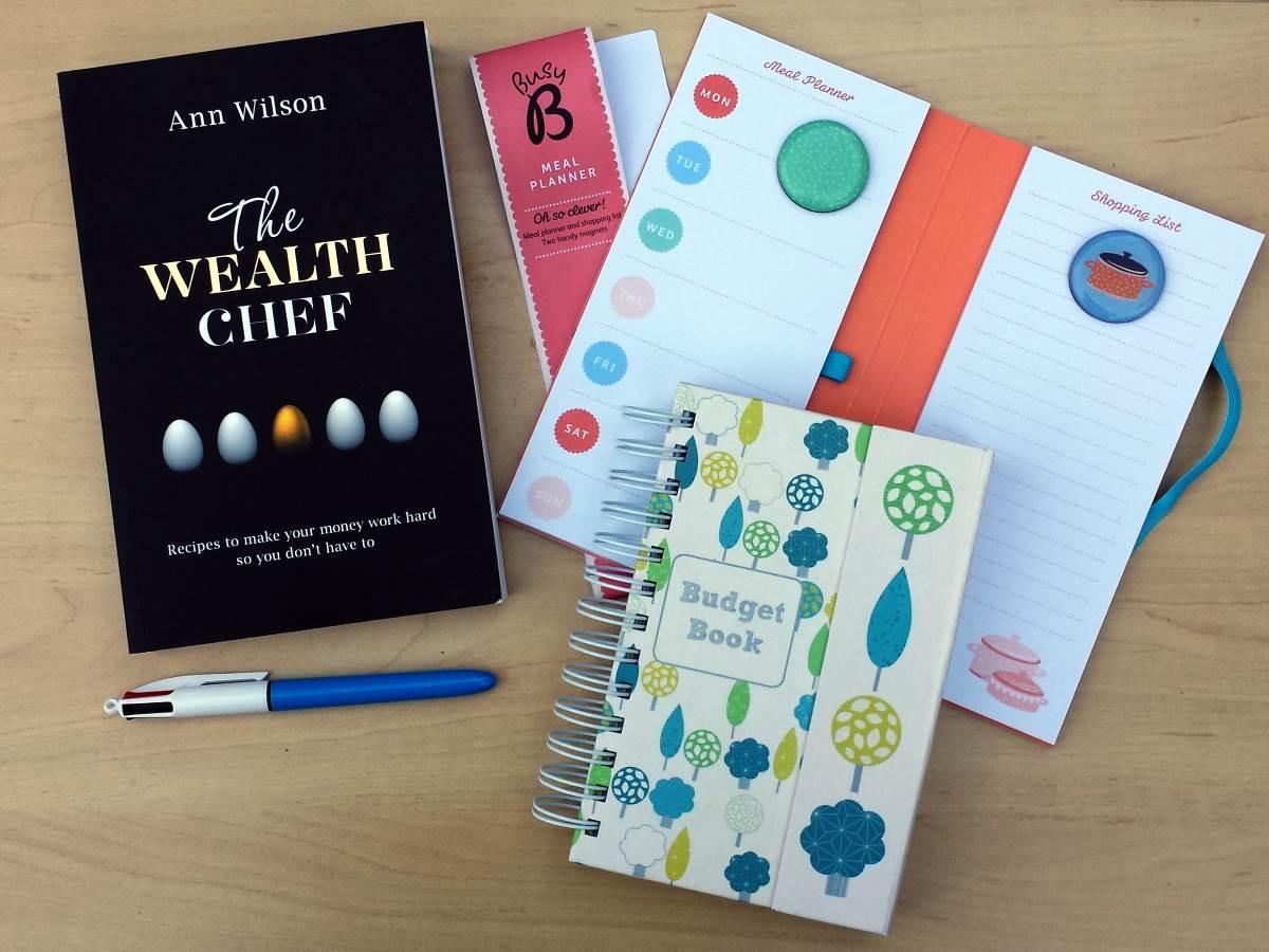 saga spending diary kit