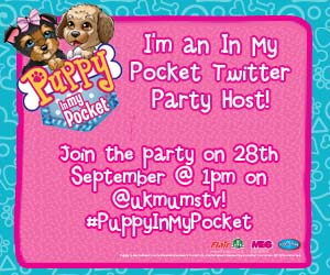 In my pocket twitter party badge