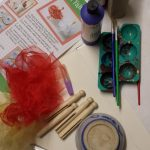 craft materials needed to made peg doll fairies