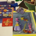 Dixit cards and pieces
