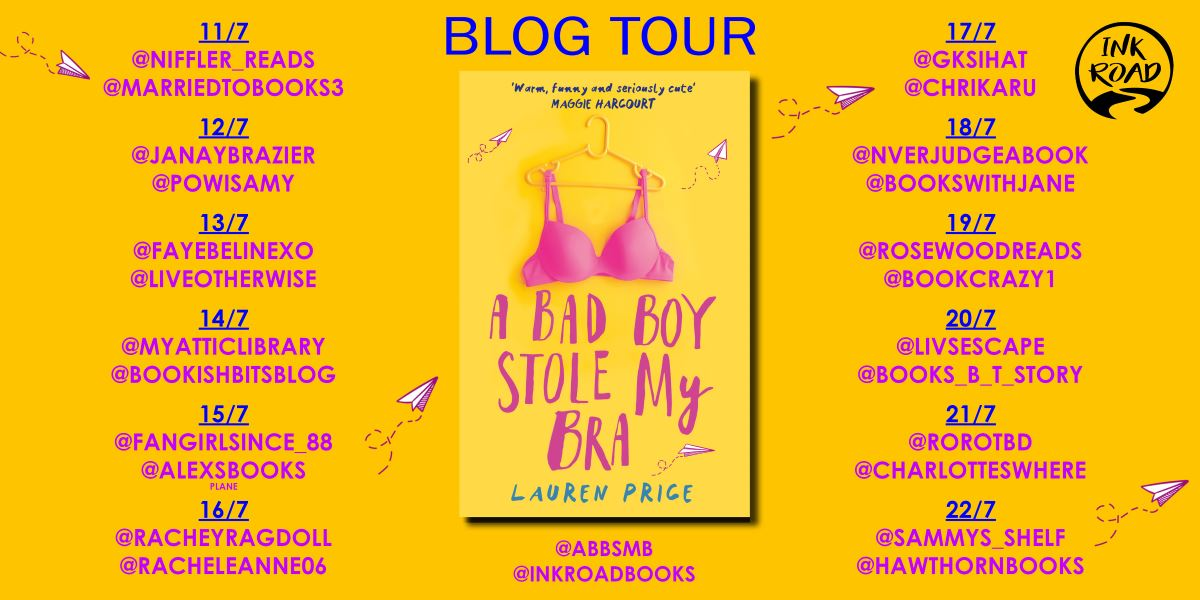 a bad boy stole my bra blog tour banner