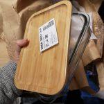 Ikea 365+ food storage with bamboo lid