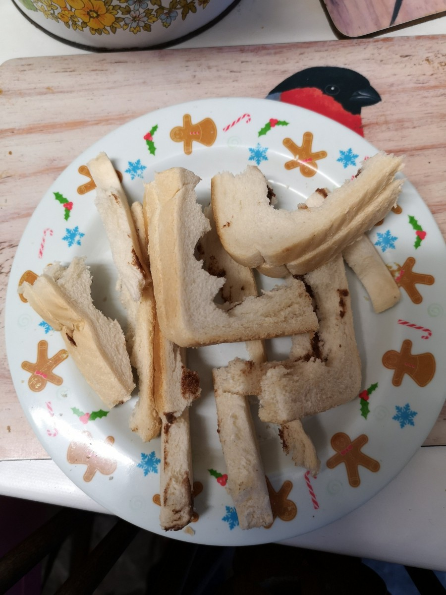 Crusts before our campaign started