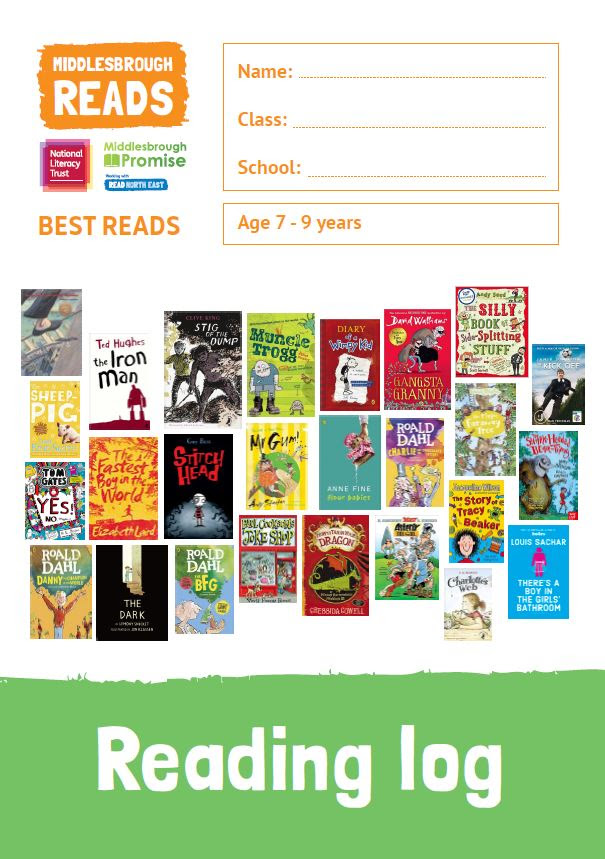Poster for Middlesbrough Best Reads campaign